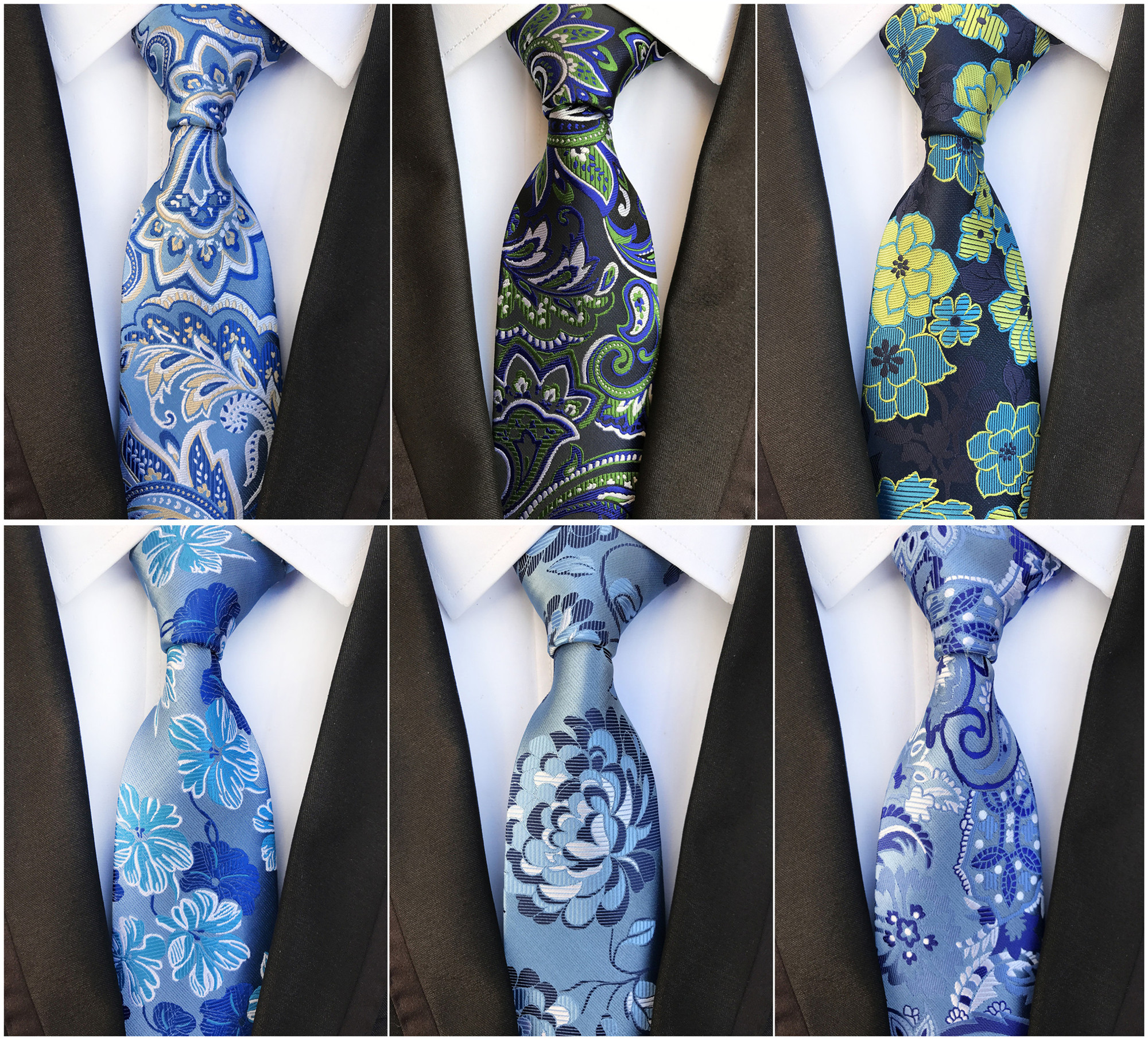 2020 Retro Men's Formalwear Business Accessories Tie Fashion Simple Personality 8cm High Quality Silk Polyester Decorative Tie