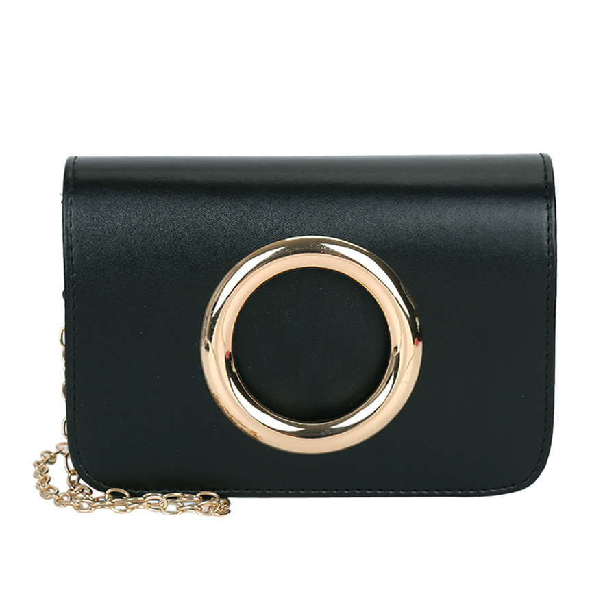 Brand New Fashion Women Leather Crossbody Bag High Quality Coin Phone Purses and Shoulder Bags Chain Party Clutch Bag bolsos S