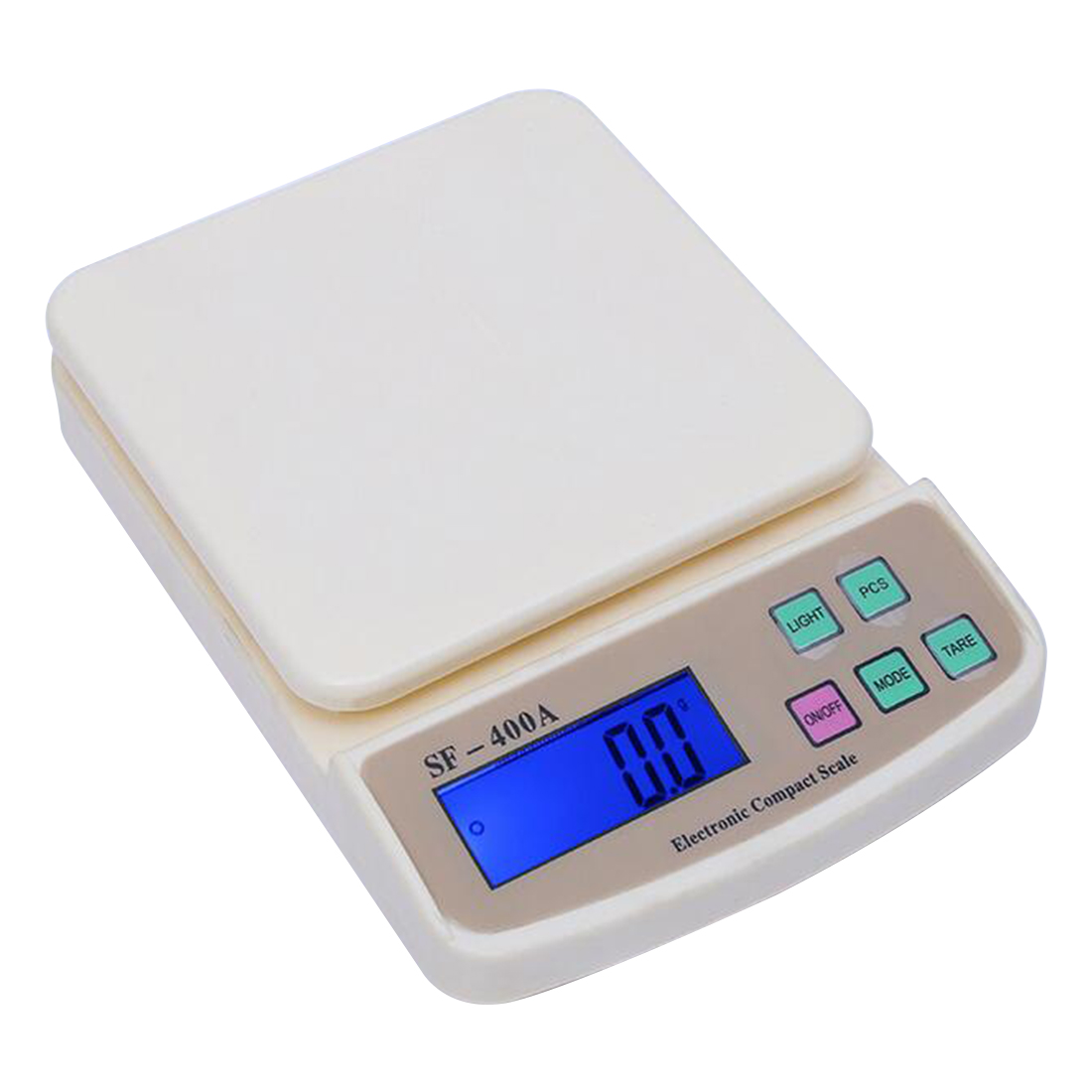 New Mini Digital Electronic scales Pocket 10Kg/1g Kitchen Weighing Scale LCD Display Backlight Scales kitchen foods cale