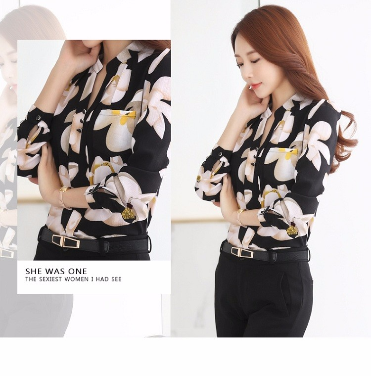 HTB1WHXrNVXXXXaoapXXq6xXFXXX9 - Autumn Fashion Blouse Office Work Wear shirts Women Tops