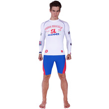 Long sleeves swimwear rashguard surf clothing diving suits shirt swim suit spearfishing kitesurf men rash guard NY018