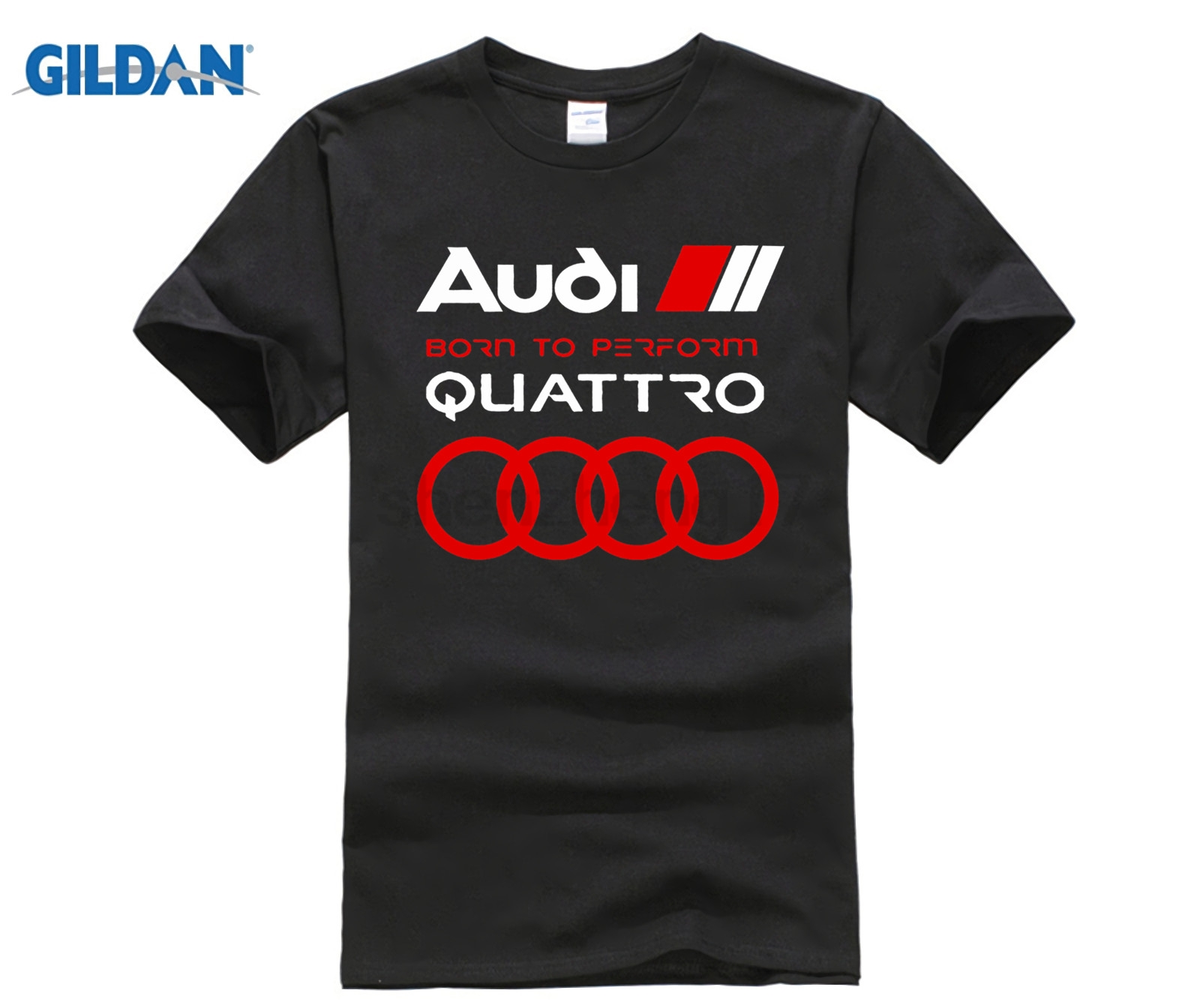 HOT deals 2018 New Cool Tee   Shirt   New Mens Germany Car Perform Logo Quattro Q5 Q3 Q7 Tee   T     Shirt   Navy Blue S To XXXL