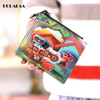 Wallet Owl Colorful Wallet Zero Wallet Quality New Discount 2017 Budalaa New Bags