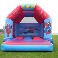 Free Shipping Inflatable Castle Bouncer Inflatable Trampoline Jumping for Kids Inflatable Bouncer Outdoors With a Blower