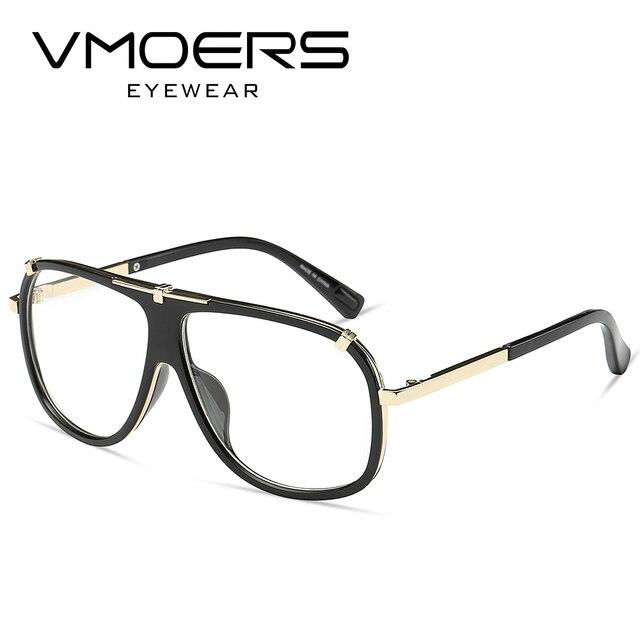 VMOERS Luxury Eyewear Frames Myopia Optical Eye Glasses Frames For Men  Transparent Fake Spectacle Eyeglass Frames Men 2ef21961d43