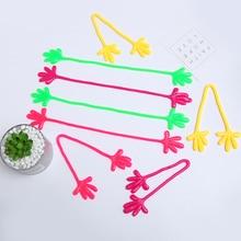एंटी तनाव टीपीआर नूडल्स रस्सी खिलौने शरारत चुटकुले लोचदार बल स्ट्रिंग बच्चों के बच्चे मजेदार गैजेट्स डिकंप्रेशन स्पूफ पर्यावरण