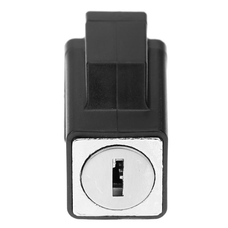 Aluminum Alloy Door Window Security Lock Window Restrictor Locks Sliding Window Lock Child Safety with 2 Keys 11