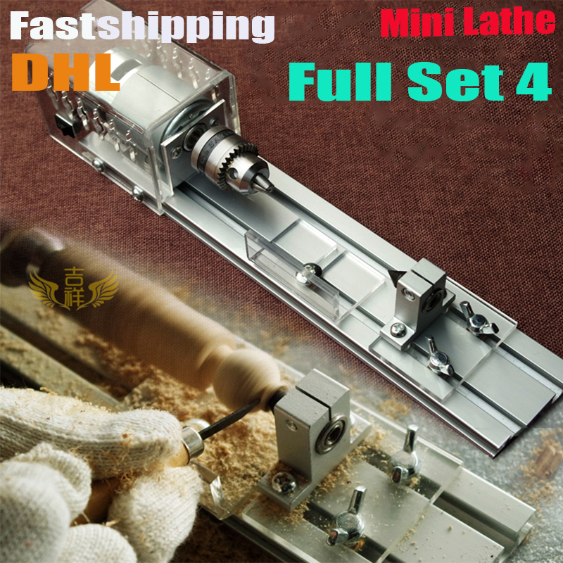 DIY Wood Lathe Mini Lathe Machine Polisher Table Saw for polishing Cutting,metal mini lathe/didactical DIY lathe Fastship by DHL 1pc white or green polishing paste wax polishing compounds for high lustre finishing on steels hard metals durale quality