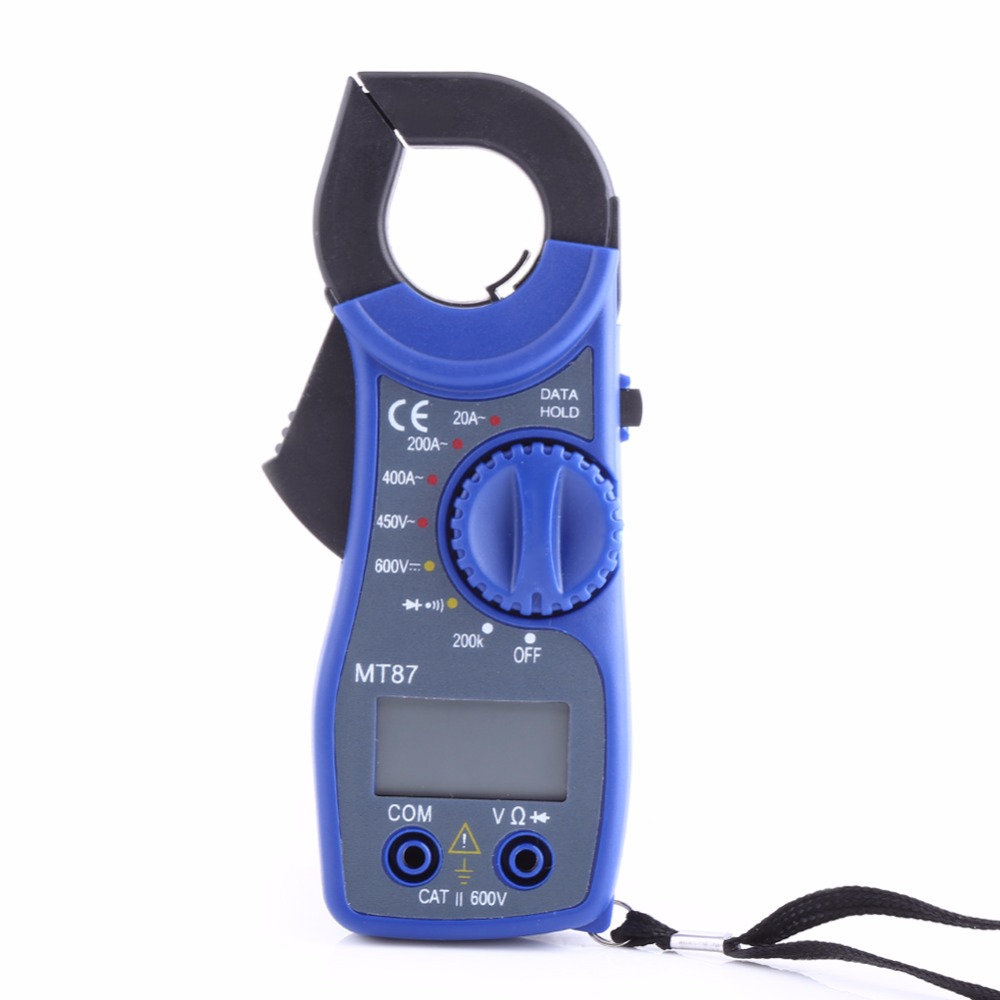 Using Digital Clamp Meter : Mt lcd digital clamp meter multimeter voltmet useful