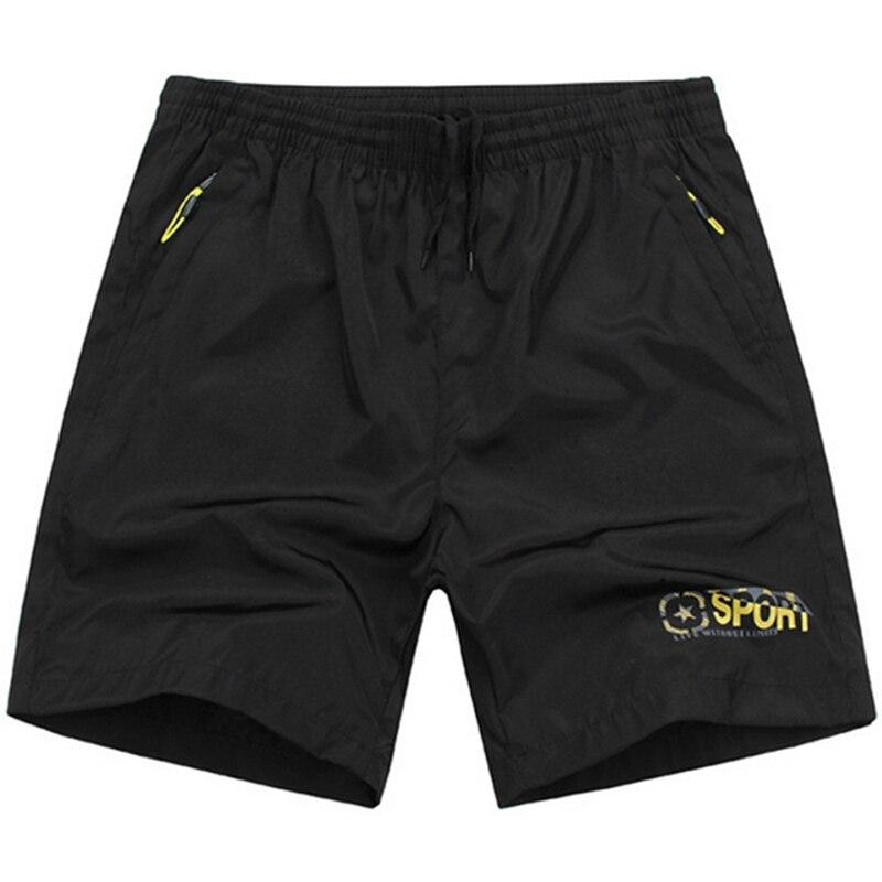 7XL Beach Zipper Pocket Shorts Men 2017 Mens Shorts Homme ...