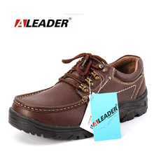 homme Leather Shoes Lace-up