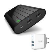 Vinsic 20000 mAh Energienbank Externes Ladegerät 2.4A Dual USB Packup Ladegerät für iPhone 8 X Sumsung Huawei Sony HTC