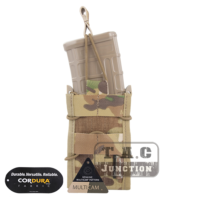 Emerson Single Stack Modular Pouch 5.56 M4 M16 AR15 SR52 P-MAGS M1A1 G3 Magazine Pouch Emersongear Molle Pouch Mag Carrier
