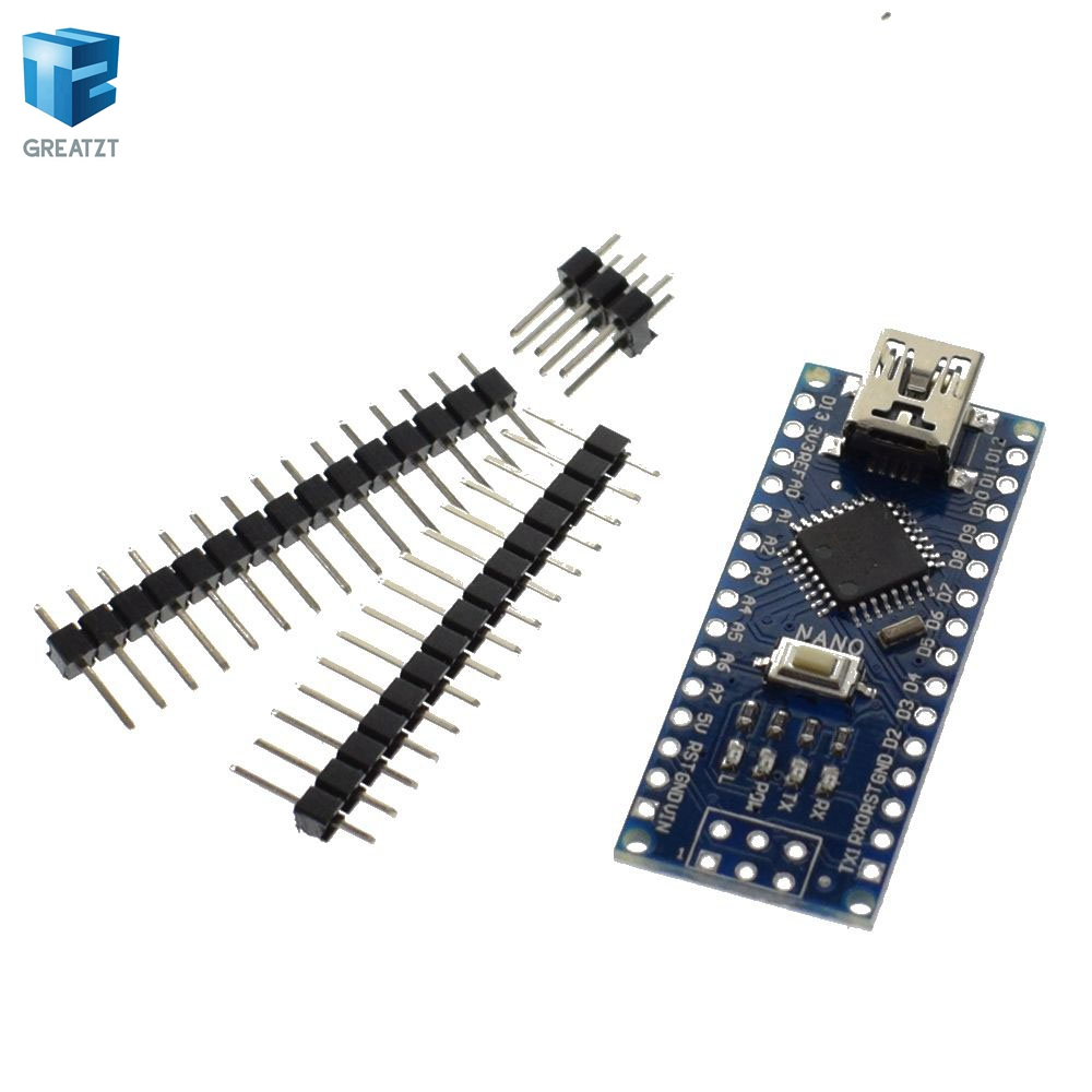 1 шт./лот нано 3.0 контроллер совместим для ардуино нано ch340 USB и драйвер кабеля без