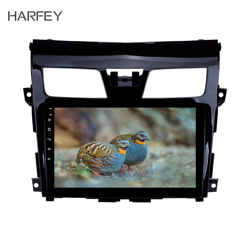 Harfey Multimedia Player 2Din 9 GPS Car Radio For 2013 2014 2017 Nissan TEANA Android 8