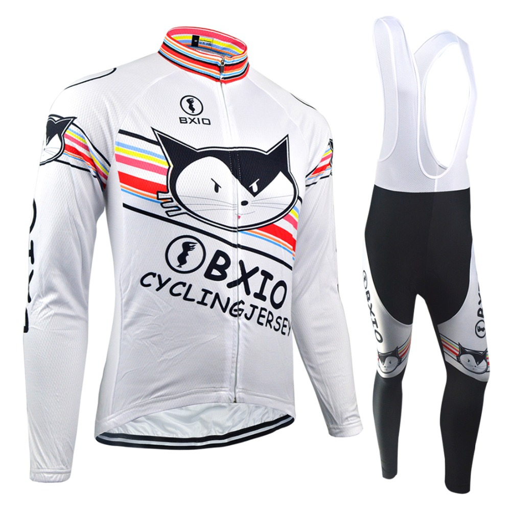 BXIO Warm Long Sleeve Pro Team Bike Clothing Winter Thermal Fleece Cycling Jerseys Equipo De Ciclismo Autumn Bicycle Clothes 079 live team cycling jerseys suit a001