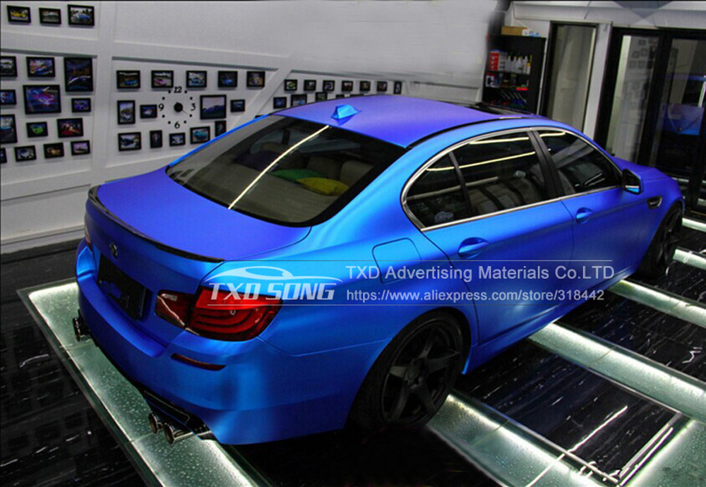 Matte Chrome Vinyl Sticker Matt Chrome Car Body Color Changing