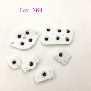 Image 5 - 10 комплектов проводящих резиновых кнопок контактов для контроллера Nintendo 64 N64