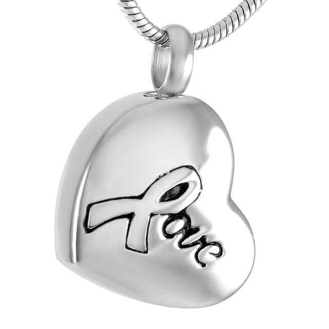 Love in Heart Urn Necklace