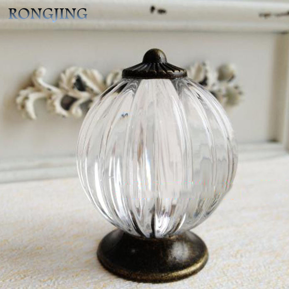 5x Ball Clear Acrylic Kitchen Cabinet Drawer Knobs China Furniture Cupboard Dresser Handles Closet Handle Wine Cabinet Pulls