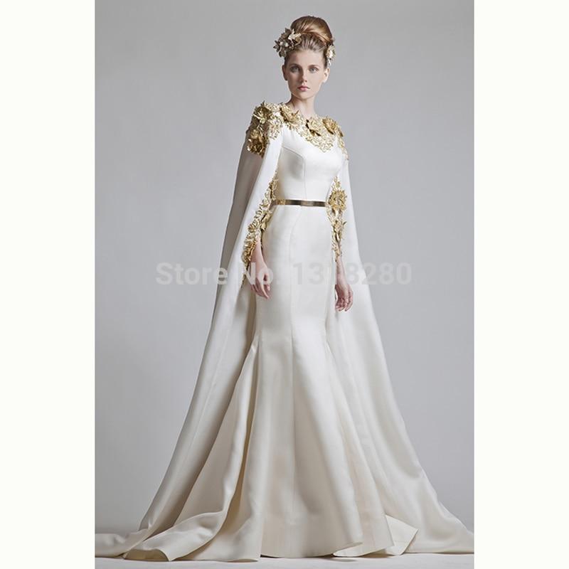 KW12 High Quality Mermaid Shawl Jacket Embroidery New Wedding ...