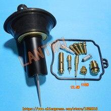 (1 set of $ 23.5)YM Virago XV250 Mikuni carburetor repair kit Kit Configure Plunger assembly Jet needle(J.N.)/Needle jet (N.J.) цена