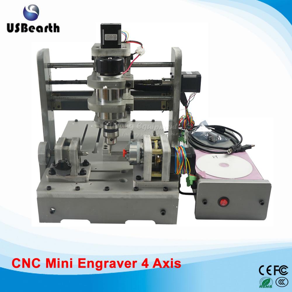 цены 3D CNC Machine 300W CNC Spindle Woodworking Machinery mini cutter