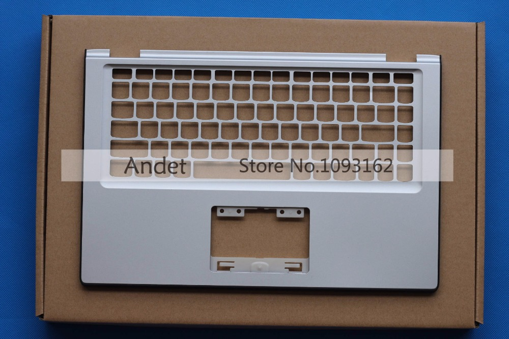 New Original for Lenovo IdeaPad Yoga 2 13 Palmrest Yoga2 13 Upper Case Keyboard Bezel Cover AP138000600 Silver