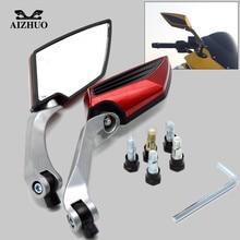 For Suzuki GSR 600 750 V-Strom 1000 650 Swish Hayate Motorcycle Rearview Mirror Moto Accessories Universal Plastic Rear Mirrors