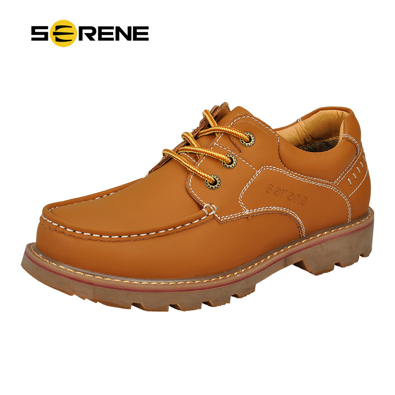 serene men shoes tooling leather shoes size 39 44 ankle