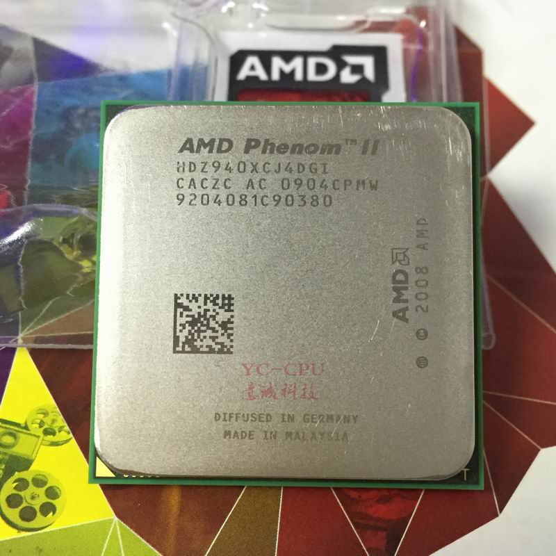 Amd Phenom Ii X4 940 3 0ghz Quad Core Cpu Processor Hdz940xcj4dgi 125w Socket Am2 940pin Free Shipping Working 100 Cpu Processor Socket Am2phenom Ii X4 Aliexpress