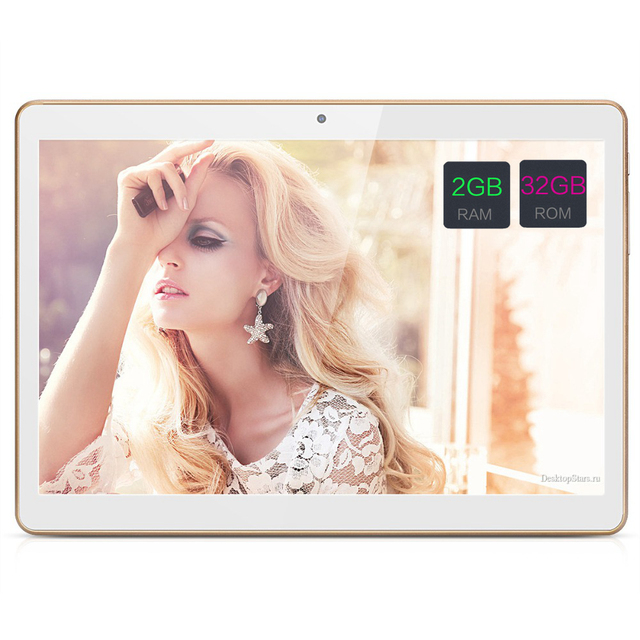 "10 Дюймов Android Tablet PC Tab Pad 2 ГБ RAM 32 ГБ ROM Quad Core Магазине Play Bluetooth 3 Г Телефонный Звонок Dual SIM Карты 10 ""Phablet"