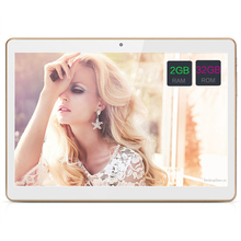 10 Дюймов Android 7.0 Tablet PC Tab Pad 2 ГБ RAM 32 ГБ ROM Quad Core Магазине Play Bluetooth 3 Г Телефонный Звонок Dual SIM Карты 10 «Phablet