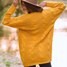 Autumn Twist Long Sleeve Cardigan