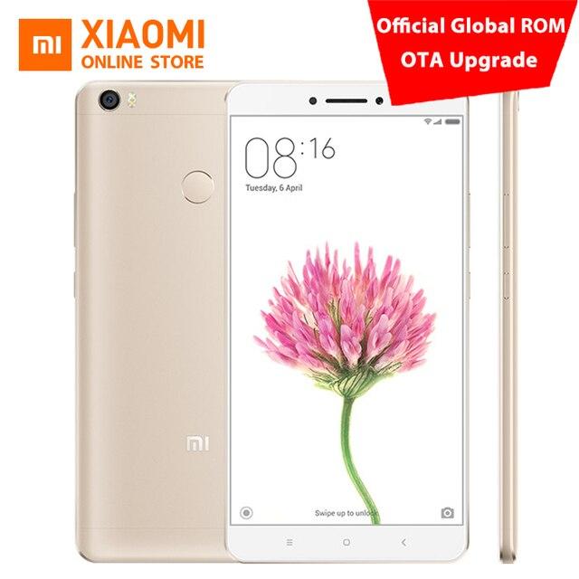 """Оригинал Сяо Mi Max Pro Prime 6.44 """"мобильный телефон 4 ГБ Оперативная память 128 ГБ Snapdragon 652 Octa core 1080 P 16mp отпечатков пальцев ID 4850 мАч"""