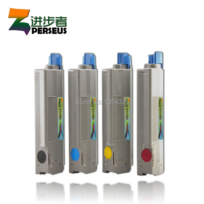 4 Pack HIGH QUALITY TONER CARTRIDGE FOR OKI C5100 C5150 C5200 C5300 C5400 PRINTER COMPATIBLE 41962808 41962807 41962806 41962805 картридж nv print 42127406 magenta для oki c5100 5200 5300 5400 5000k