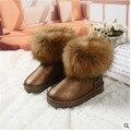 Новый 2016 добавить шерсть теплые сапоги утолщение мужской противоскользящие женские ботинки хлопка