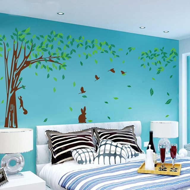 Free Shipping Large Size Oversized Family Tree Wall Decal Sticker Custom  Colors Sizes Removable Family Tree