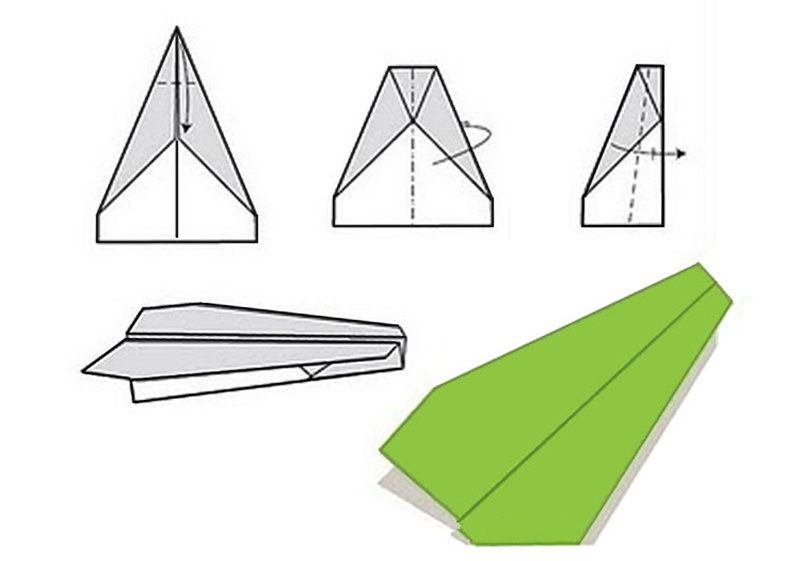 Electric Paper Airplane Conversion Kit. Propel your plane with a ... | 561x800
