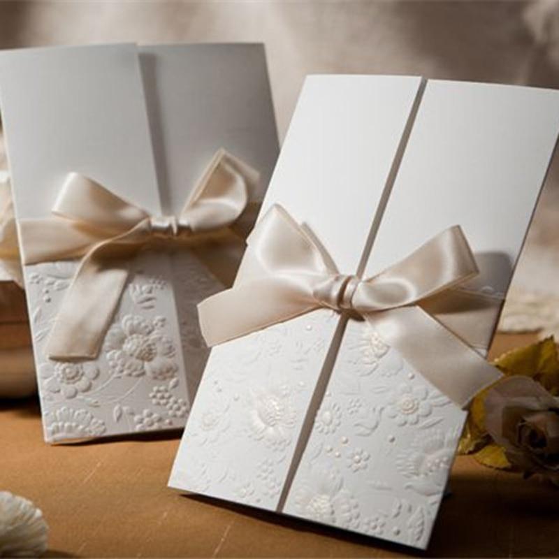 (50 stuks / partij) Wishmade Bloemen Reliëf Bruiloft - Feestversiering en feestartikelen