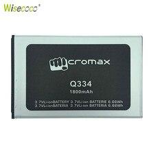 WISECOCO New Original 1800mAh Battery For Micromax Q334 Q 334 Smart Mob