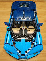 New 20086 Technic Series Bugatti Chiron Supercar Building Blocks Bricks Toys Compatible With Legoing 42083 Kid Toys Gifts Model