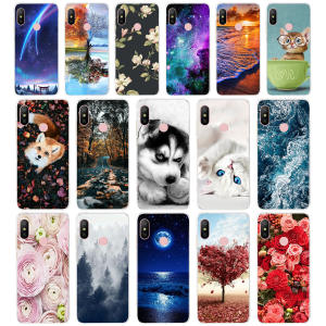 Protection Soft tpu Back Cover For Xiaomi MI A2 LITE Case Phone Cases