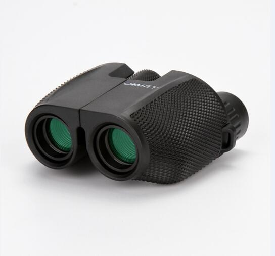 High Power HD 10X25 BAK4 Prism green film waterproof binoculars telescope for travel hunting Hot selling