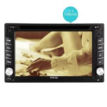 Android 5.1.1 Double two 2 din Car DVD CD Player GPS Wifi Bluetooth Radio Capacitive Touch Screen Car Stereo Mirror Link Remote