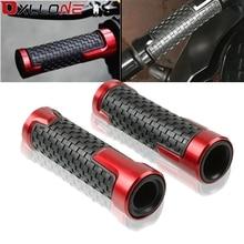 Empuñaduras de manillar de motocicleta, mango de mano para Honda CBR1000RR FIREBLADE SP CBR1100XX BLACKBIRD CBR125R 150R 250R 250