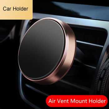 Car GPS Air Vent Mount Magnet Cell Phone Holder Stand For kia rio toyota tacoma beetle ix25 dodge challenger opel insignia mk7 image