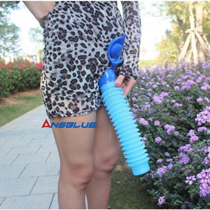 750ML Outdoor Portable Urinal Women Men Children Mini Toilet  For Travel Camp Hiking Potty Children Training Foldable Pee Tool