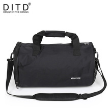 YUETOR OUTDOOR Big Capacity Unisex Waterproof Nylon Travel Duffle Sport Handbag Single Shoulder Fitness Bags Gym Bag Sports Bags недорого