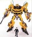 Transformação Robot Alliance Human Bumblebee e Sam figuras de ação brinquedos para brinquedos clássicos anime figura dos desenhos animados brinquedo do menino
